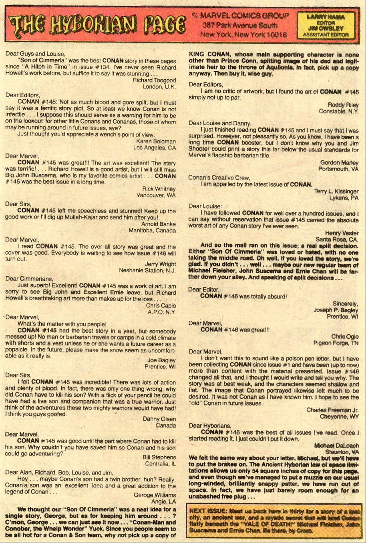 Conan the Barbarian (1970) Issue #150 #162 - English 24
