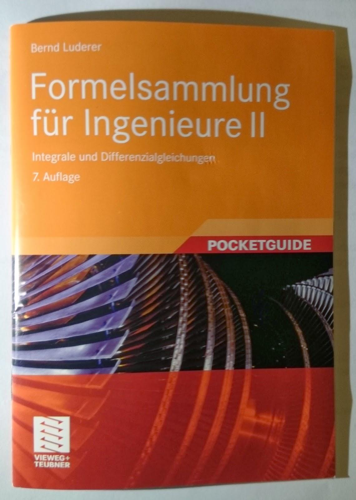 Formelsammlung für Ingenieure II