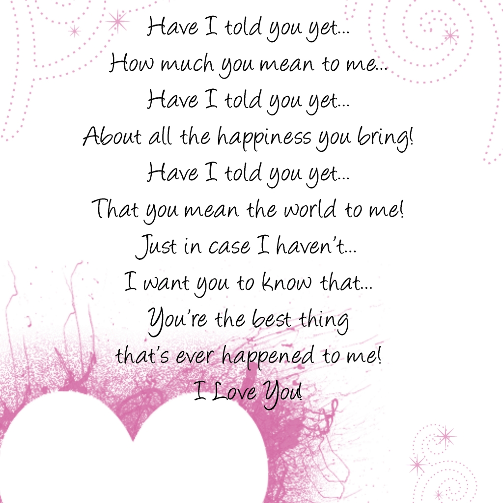 I Love You Quotes And Poems : love poems love poems love poems love poems love poems love poems love ...