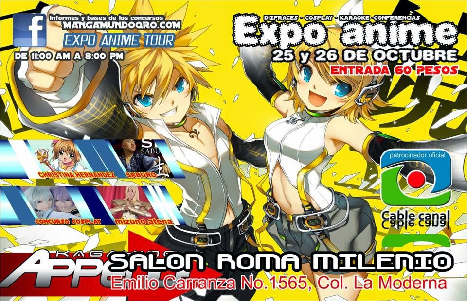 EXPO ANIME IRAPUATO 2014
