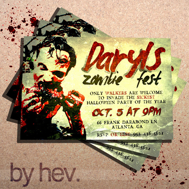Zombie Party Invitations gangcraftnet – Zombie Party Invitations Free