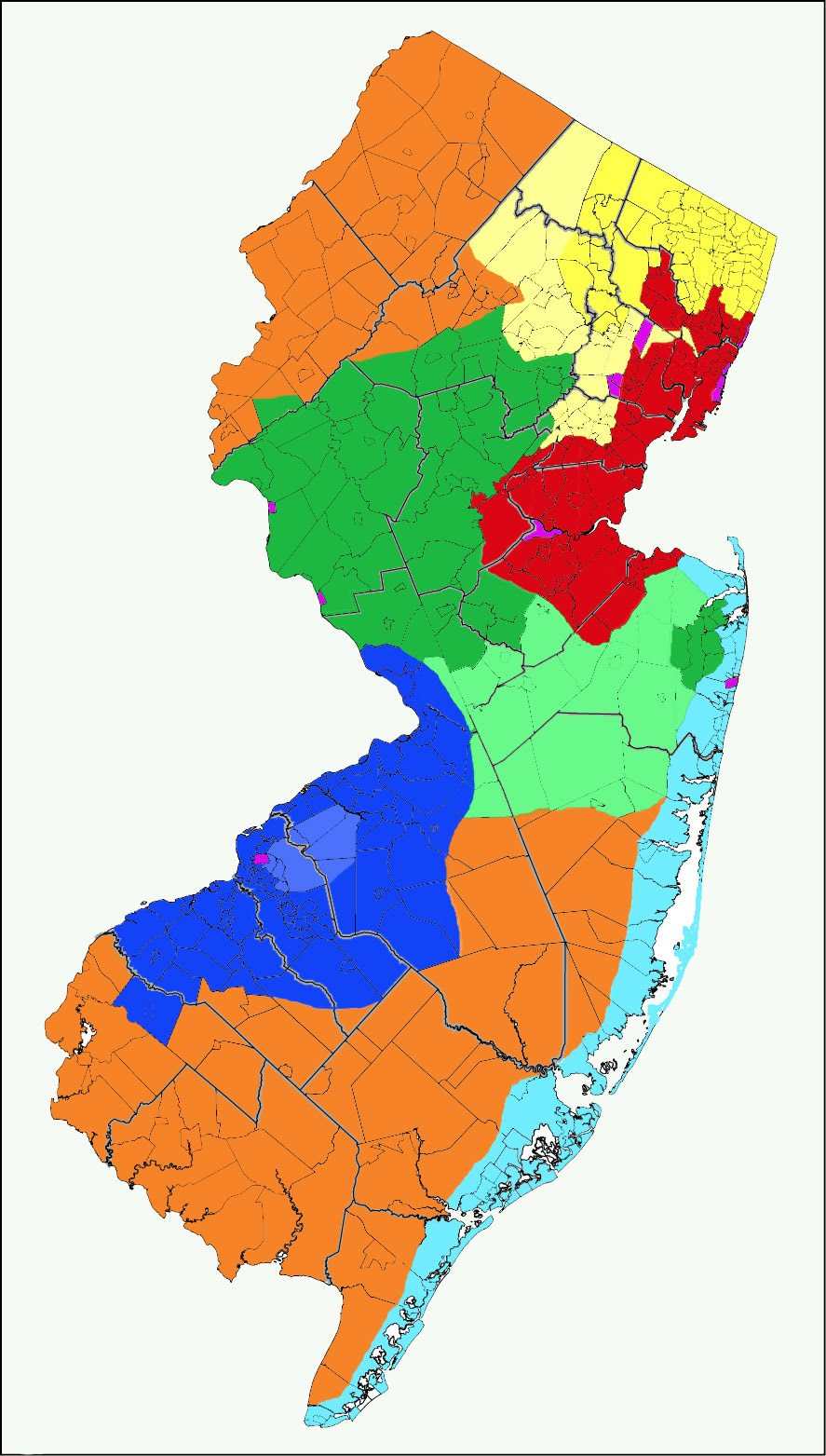 Where is the line between North & South Jersey?: New Jersey\'s ...