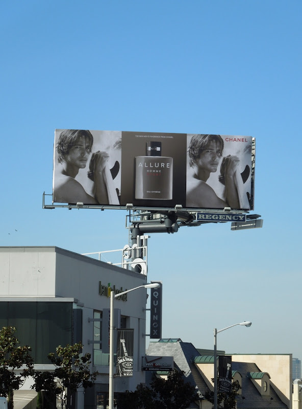 Allure Homme Sport Chanel billboard
