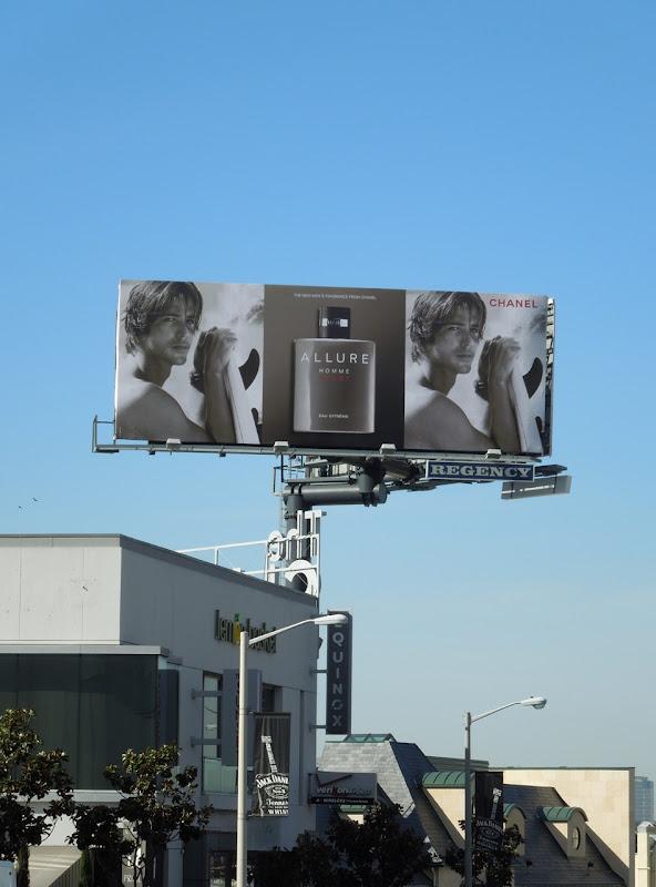 Allure Homme Sport Chanel billboard