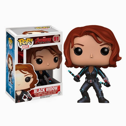 Avengers: Age of Ultron Black Widow Pop! Marvel Vinyl Figure by Funko