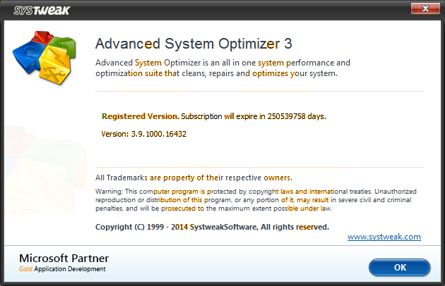 Advanced System Optimizer 3.9 Seriennummer frei