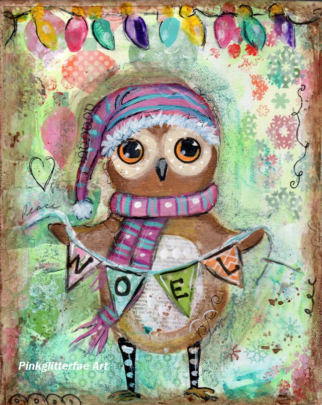 Owl Paintings For Sale Black Friday Sale