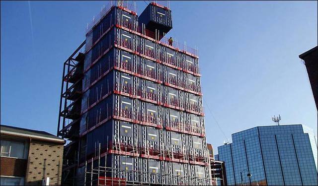 Londres tem o primeiro hotel de contêiners reciclados