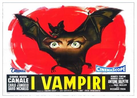 Poster - I Vampiri (1956)