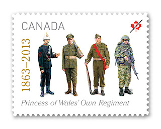 The Princess of Wales' Own Regiment - www.canadapost.ca