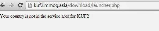 KUF2 SEA Unavailable to download without SG or MY IP Address