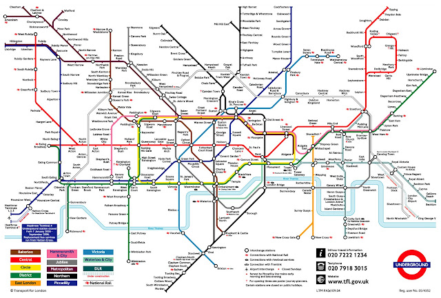 2011 London Underground Map