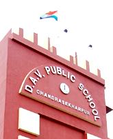 DAV Public School Chandrashekharpur Logo