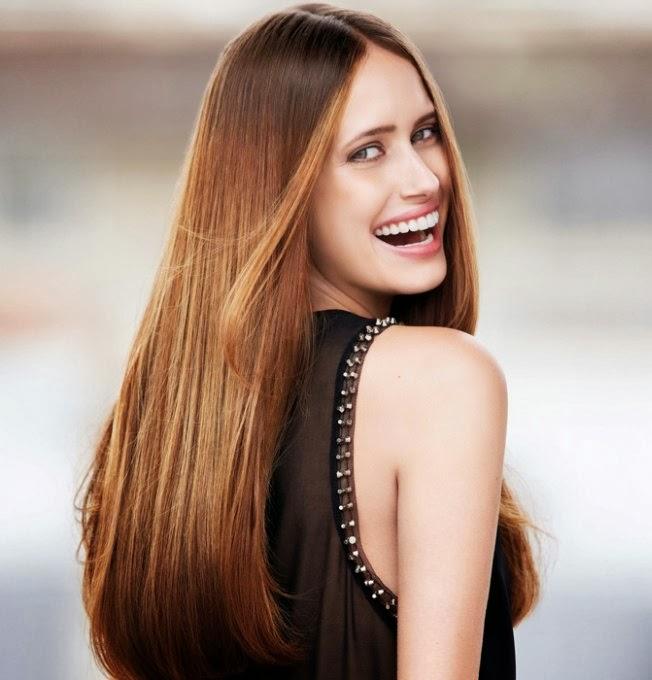 Haarmode lang steil haar Kapsels Trendystyle, de trendy  - Kapsels Voor Lang Steil Haar