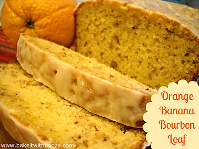 Recipe: Orange banana bourbon loaf
