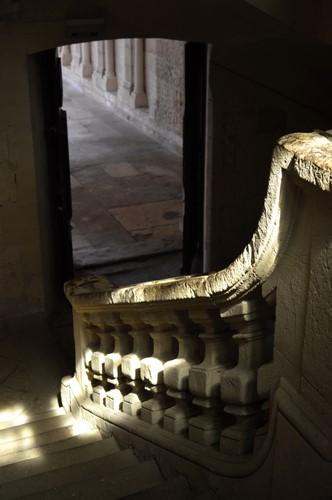 Escalier - Bâtiment conventuel