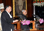 Pranab Kumar Mukherjee, President of India