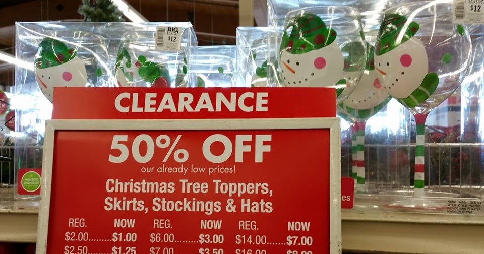 Big lots after christmas clearance finds 50 off gift for After christmas christmas decoration sales