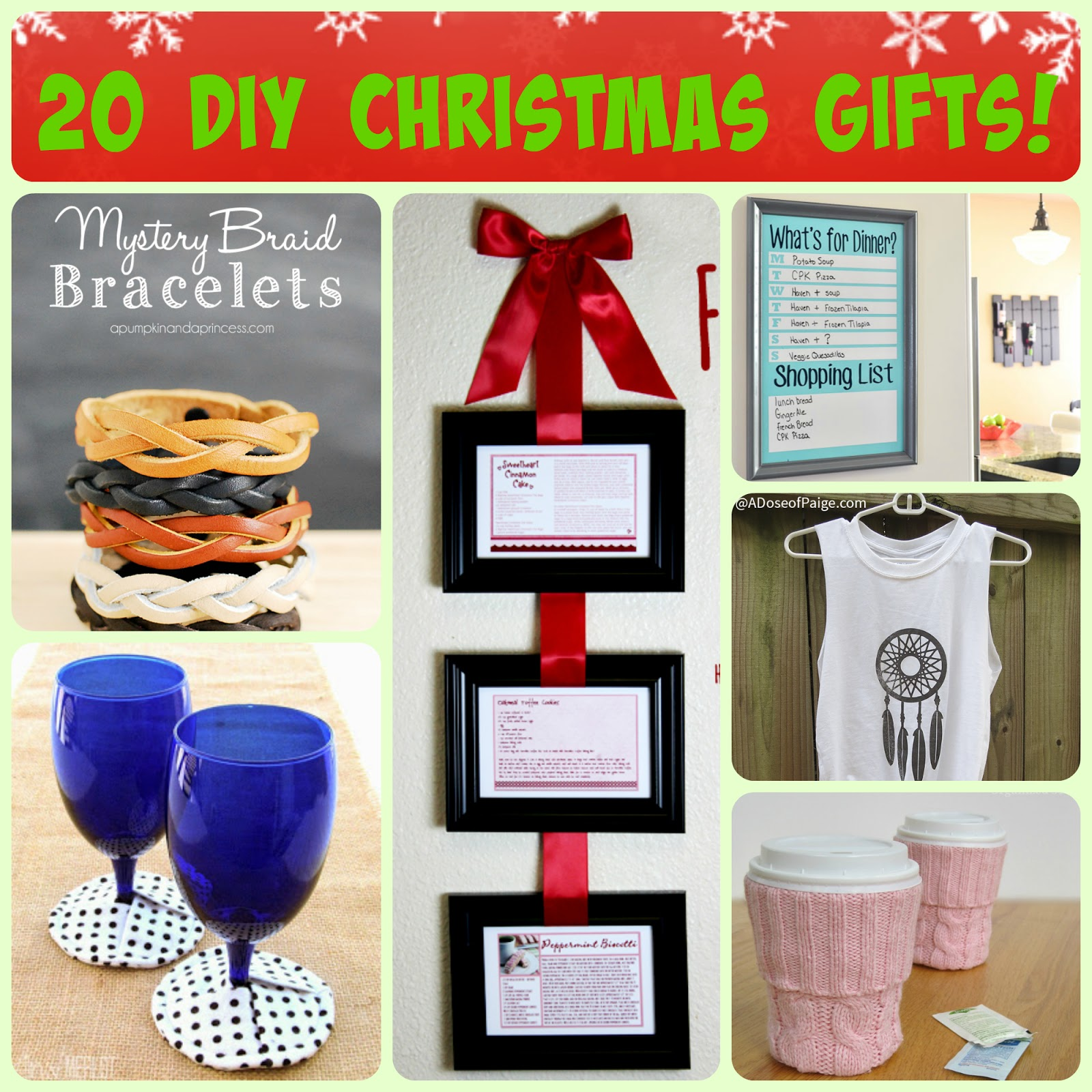 20 easy diy christmas gifts