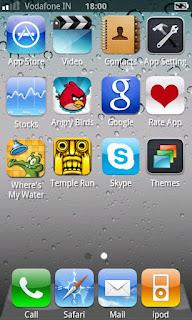 iphone 5 theme for android,iphone 5 app,fake iphone 5 theme