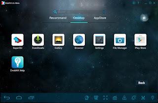 Download Droid4X - Giả lập android trên máy tính