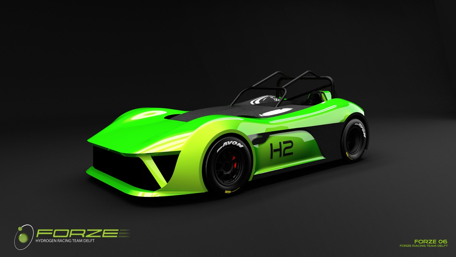 Electric Race News Hydrogen Race Car From Tu Delft To Shock And