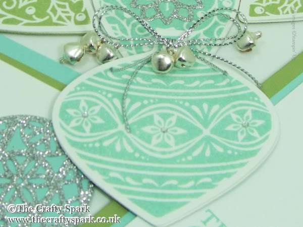 Day 2 - Embellished Ornaments Series - Box of Cards, Gift Cards & Tags