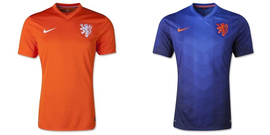 Belanda - Jersey Grade Ori Piala Dunia 2014
