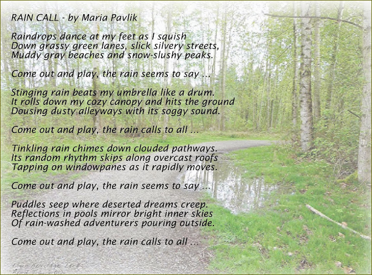 RAIN CALL by MARIA PAVLIK (aka Penelope Puddle)