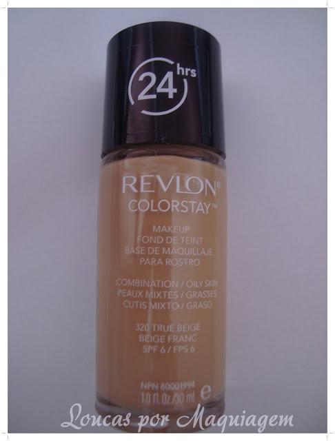 resenha base revlon colorstay, maquiagem