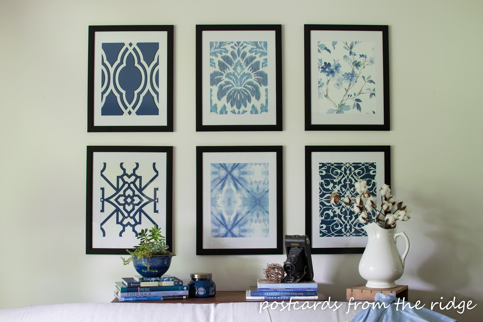 Affordable Diy Wall Decor : Affordable diy artwork ideas postcards from the ridge