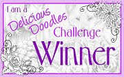 Winner of Delicious Doodles Challenge #8 2011