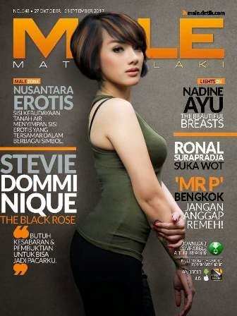 Download Majalah MALE 048 - Stevie Domminique, The Black Rose