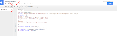 Cara Membuat Cronjob di Google Script