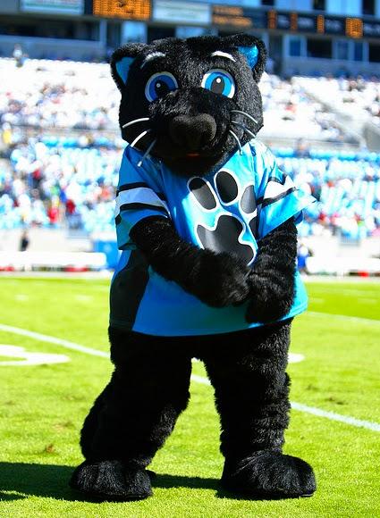 Sir Purr Mascot Carolina Panthers