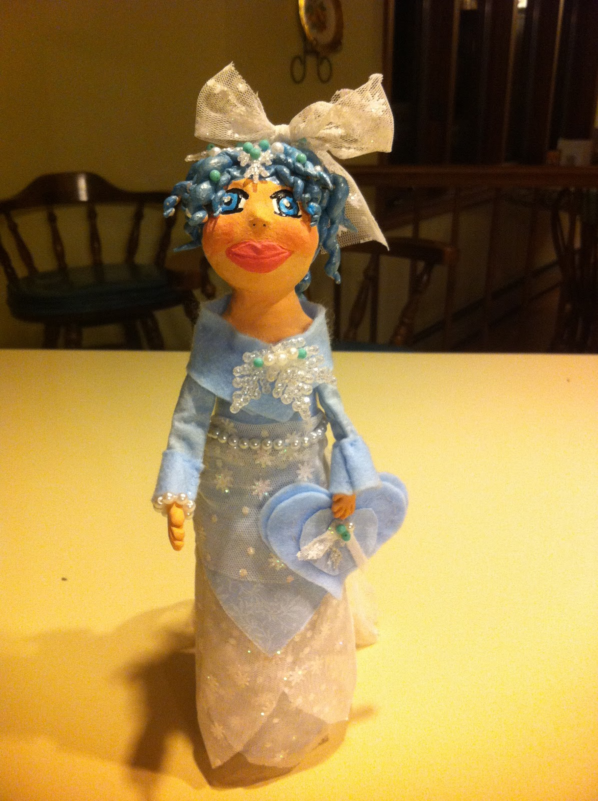 air dry clay tutorials beer bottle doll