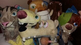 Плюшени играчки Ледена епоха