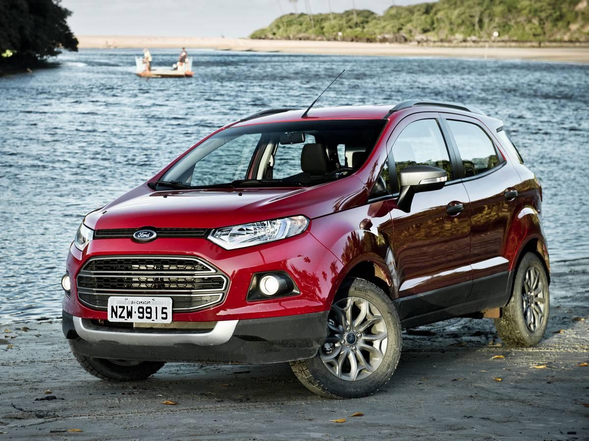 Ford EcoSport: terceiro SUV mais vendido em agosto