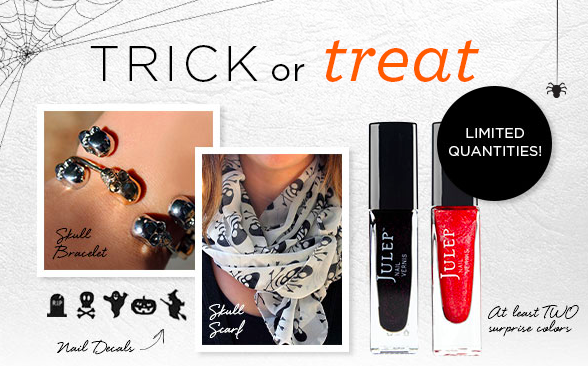 Julep Trick or Treat Mystery Box Time! - Monthly Beauty and Nail Polish Subscription Boxes