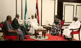 Details From Buhari's Presidential Media Chat(Photos)