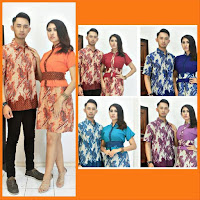 Baju Batik Pasangan Dress Motif Sekar Jagad
