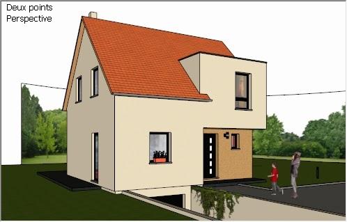 formation sketchup parler en 3d r ussir votre rendu de maison individuelle. Black Bedroom Furniture Sets. Home Design Ideas