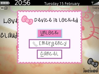 Themes 8520/9300 OS Blackberry Theme | Blackberry Applications World