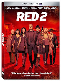 'Red 2' on DVD and Blu-ray