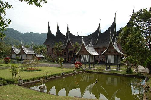 Download this Rumah Adat Tradisional Gadang picture
