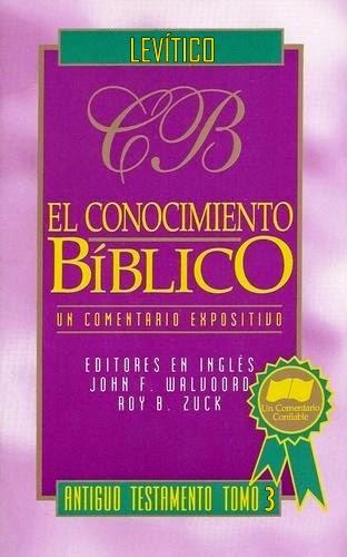 El Conocimiento Bíblico-Antiguo Testamento-Tomo 3-Levítico-