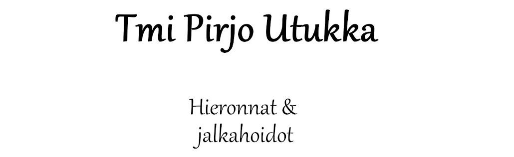 Tmi Pirjo Utukka Hieronnat ja jalkahoidot