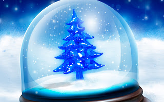 Snowy Christmas Tree Hd Wallpapers