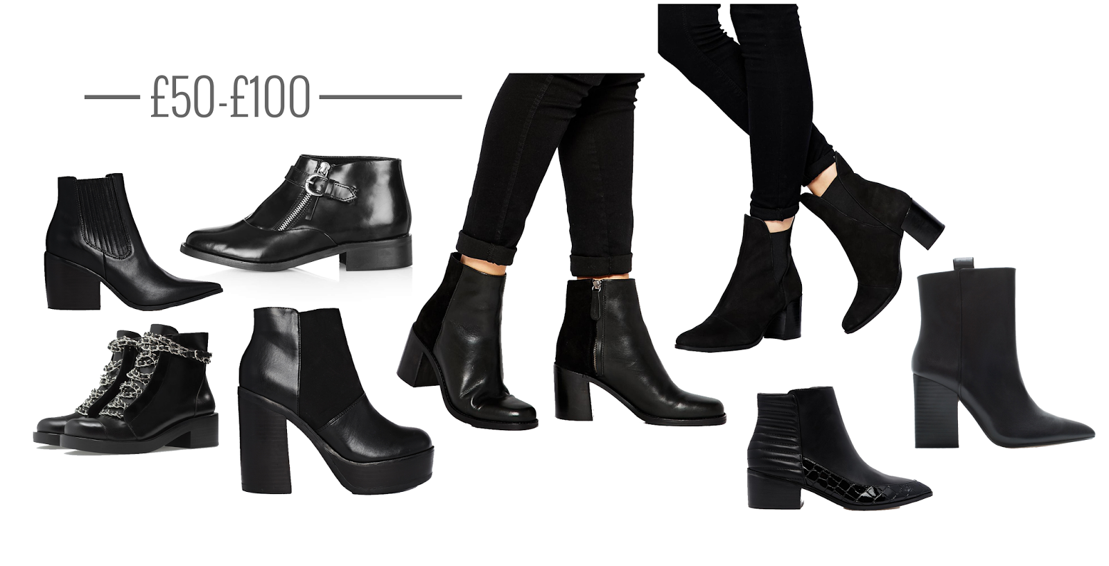 ankle boots under £100