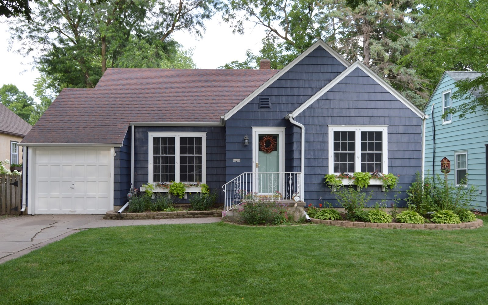 KRUSE\'S WORKSHOP: A New Exterior House Color!!